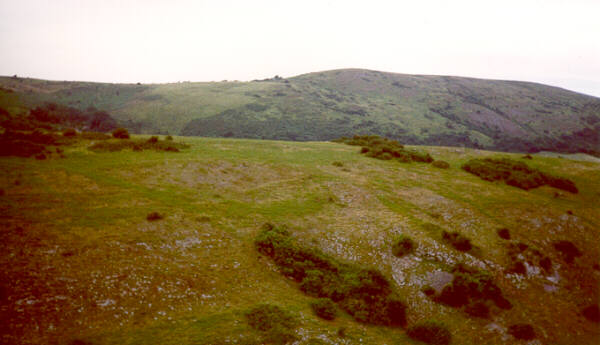 Crook Peak, with Wavering Down behind